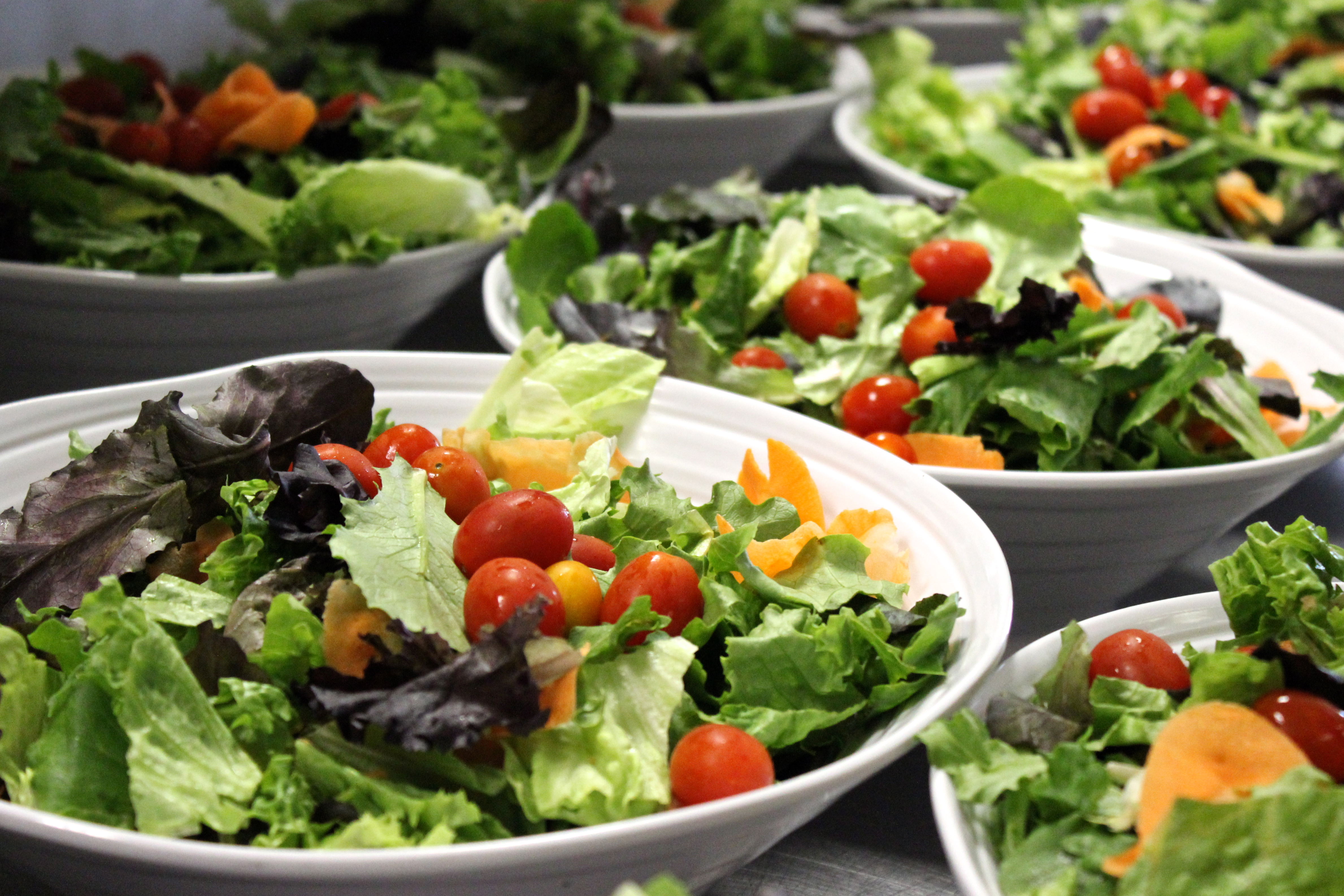 how to make a tossed salad